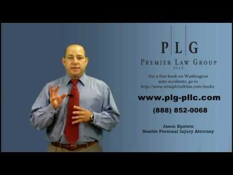 Seattle Injury Lawyer - The Basics of Auto Insurance