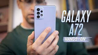Samsung Galaxy A72 Hands-on: Flagship features on a budget phone!