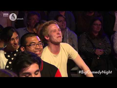 Asian Comedian gets heckled at stand up comedy night