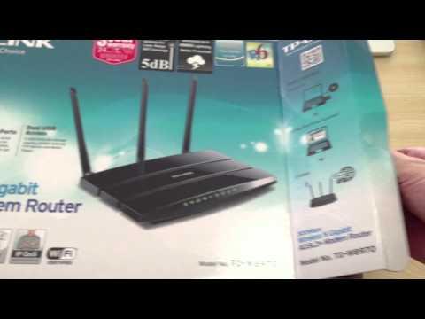 Configurar Router Modem Tplink TD-W8950ND Con Linea CANTV *VSC*