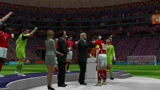 FIFA World Cup 2010 Final in PES6: Switzerland vs France (HD 720p)