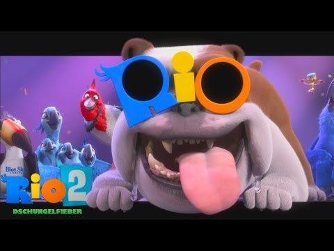 RIO 2 - Dschungelfieber - Trailer 1 - Deutsch HD German
