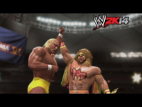 """WWE 2K14"" How-To: Hulk Hogan vs. Ultimate Warrior at WrestleMania 6"