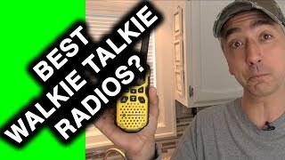 Best walkie talkie field radio: Review Motorola MS350R