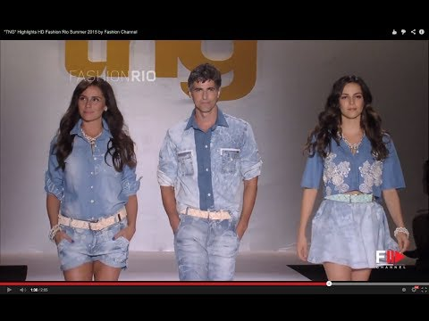 """TNG"" Highlights HD Fashion Rio Summer 2015 by Fashion Channel"