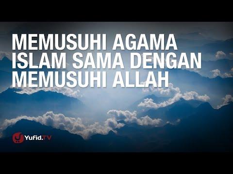 Tanya Jawab: Memusuhi Agama Islam Sama dengan Memusuhi Allah - Ustadz Dr. Syafiq Riza Basalamah, M.A