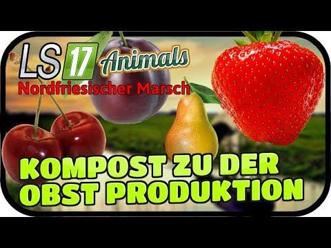KOMPOST ZU DER OBSTPRODUKTION #044 ANIMALS - LS17 NORDFRIESISCHER MARSCH ★  FARMING SIMULATOR 17