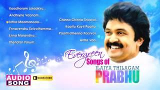 Evergreen Songs of Ilaya Thilagam Prabhu | Audio Jukebox | Prabhu Hits | Ilayaraja | Music Master