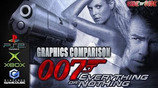 007 Everything or Nothing James Bond | Graphics Comparison | ( PS2 , XBOX , Gamecube )