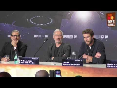 Independence Day 2 - full press conference Berlin (2016) Liam Hemsworth Jeff Goldblum