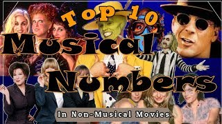 UPDATED! Top 10 Musical Numbers in Non-Musical Movies 🎶