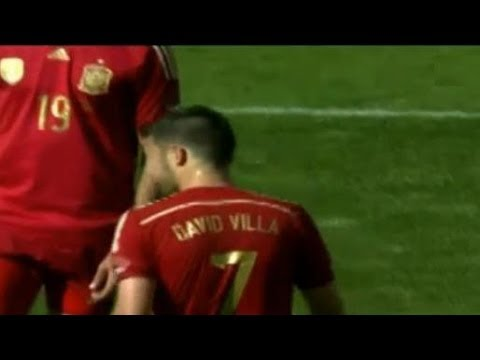 El Salvador vs Spain 0-2 All Goals & Highlights | Salvador vs España 07.06.2014 David Villa