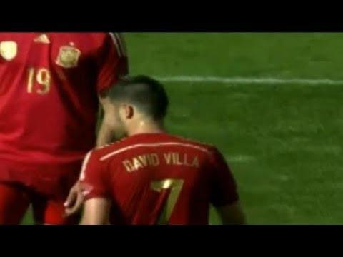 El Salvador vs Spain 0-2 All Goals & Highlights | Salvador vs España 07.06.2014 David Villa
