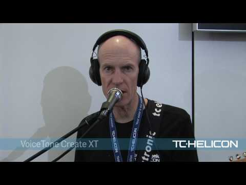 TC-Helicon VoiceTone Create XT - Live Demo
