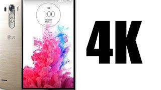 LG G3 4K Video Sample 2