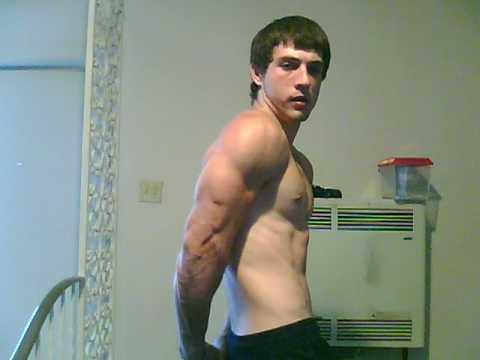 Teen Bodybuilding Chris Matteucci a few randoms