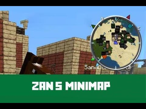 Zans Minimap Mod Showcase With Forge Minecraft 1.7.10