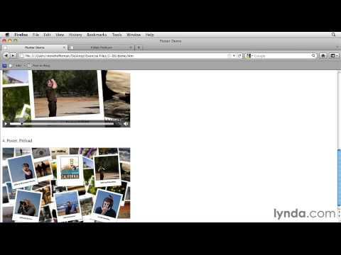 Html5 video poster frame