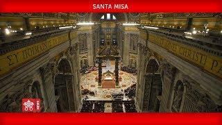 Basilica di San Pietro-Santa Messa 2020-03-29