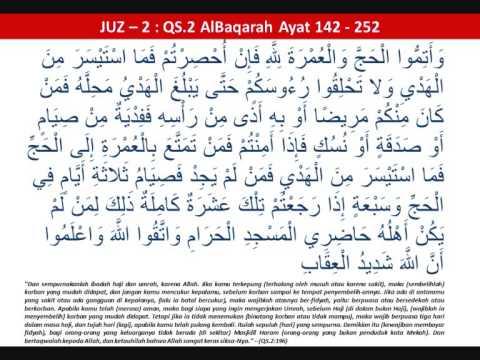 Quran Juz 2 (qs.2 Al-baqarah:142 -- Qs.2 Al-baqarah:252) Muammar Za video