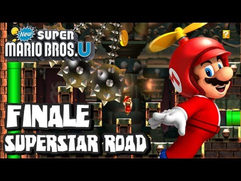 New Super Mario Bros U Wii U - Superstar Road - Part 2 FINALE