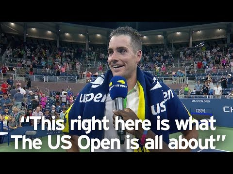 """John Isner: """"I Couldn't Have Won This Match Without Your Support"""""""