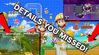 Mario Maker 2 The Things You Missed!!! [Analysis]