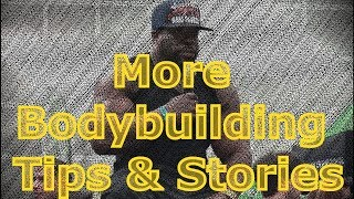 More Kali Muscle Bodybuilding Tips & Stories