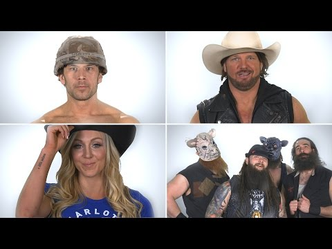 What Do The Wyatts, Fandango, Charlotte And AJ Styles Have In Common?