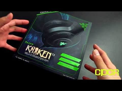 Razer Kraken 7.1 Surround Gaming Headset Unboxing + Written Review