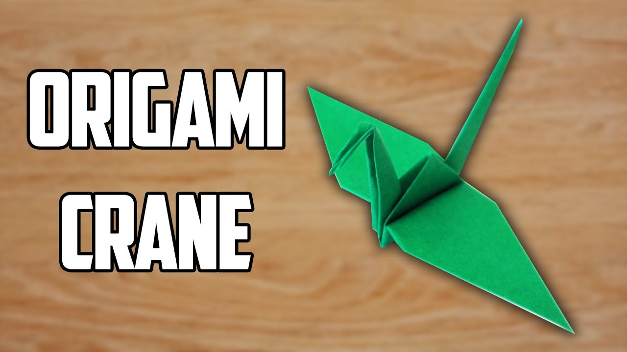 Easy origami crane wikihow