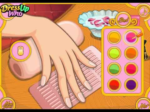 Thanksgiving Nail Design online game