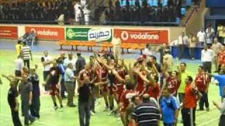 Ultras Ahlawy - Ahly players 100% Mentality ( Ahly Vs ZiZi ) Hand Ball - P2