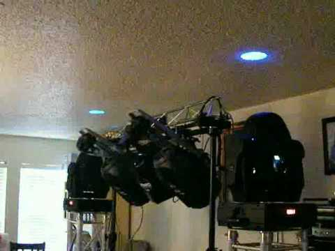 Global Truss Towers, Elation Moving Head Lights, Martin MX 10, Martin Wizard Extreme