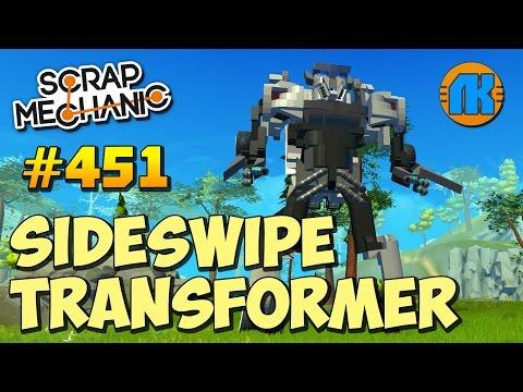 Scrap Mechanic \ #451 \ SideSwipe Transformer \ СКАЧАТЬ СКРАП МЕХАНИК !!!