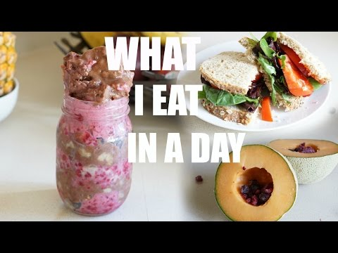 WHAT I EAT IN A DAY #29║EASY, HEALTHY & VEGAN MEALS #1
