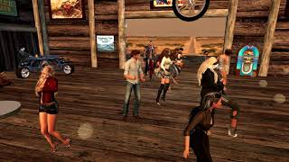 shagwong cove Resort   biker party