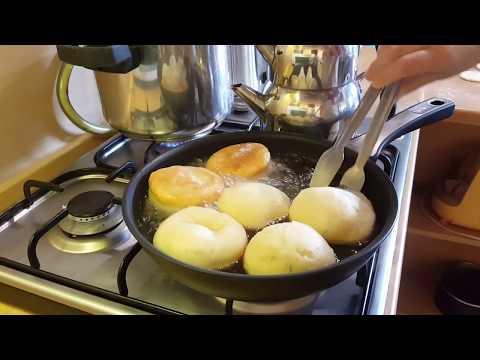 Mayasız hamur kızartması
