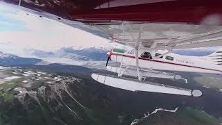 360° Floatplane Journey to Crystal Lake in BC, Canada