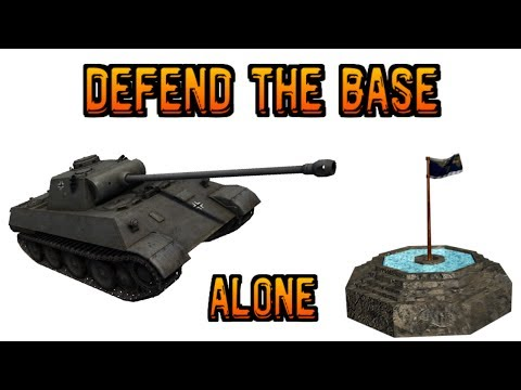 [WORLD OF TANKS - XBOX-360 EDITION] - Defend the base ALONE!! klip izle