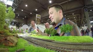 Miniatur Modellbahn Workshop: Landschaftsbau auf der Modellbahn mit Christian Uhl - Messe Leipzig