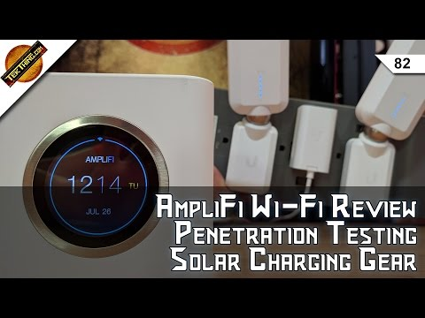 Ubiquiti AmpliFi WiFi Review, Get A Pentesting Job, 802.11n Is The Problem, Solar Charging Picks!