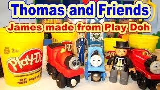 Thomas and Friends we make JAMES from Play Doh a Fan Requested Video