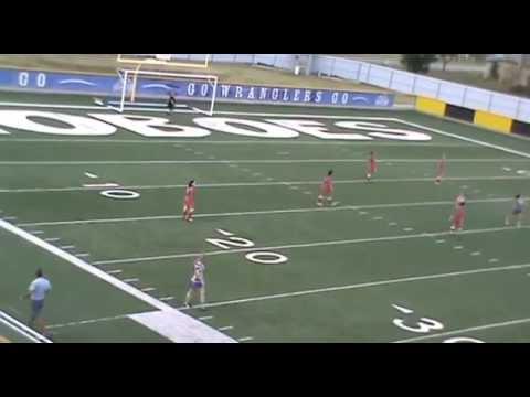 Cisco College vs Hill College 2013 Women's Soccer