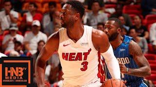 Miami Heat vs Orlando Magic Full Game Highlights   10.08.2018, NBA Preseason