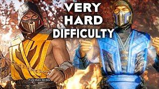 MORTAL KOMBAT 11 Scorpion Vs Sub Zero Gameplay Very Hard Difficulty MK11