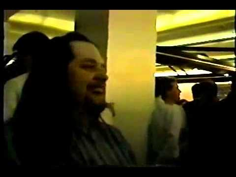 Shawn Lane meets Allan Holdsworth at NAMM 1995