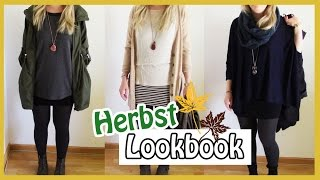 Herbst Lookbook | Outfit Inspiration Fashion