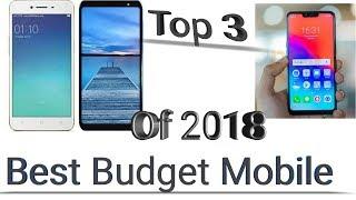 3 best budget mobile phone | 3 midrange phones of 2018 in 2019