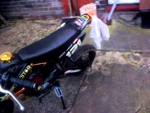 Shineray 50cc road legal Pit bike
